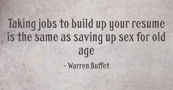 Taking Jobs To Build Up Your Resume Is The Same As Saving Up Sex For Old  Age | Fluitend Naar Het Werk | Pinterest | Old Age, Resume And The Ou0027jays  How To Build Up Your Resume