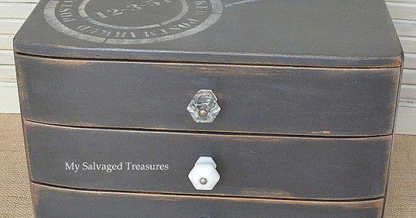 Trash to treasure chest creative furniture and for Creative silverware storage
