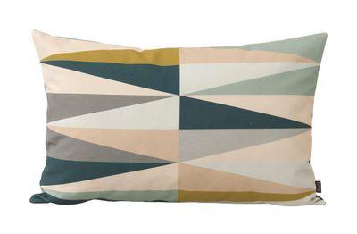 Cuscini 60 X 40.Cuscino Spear Multicolore Piccolo Modello 60 X 40 Cm Di Ferm