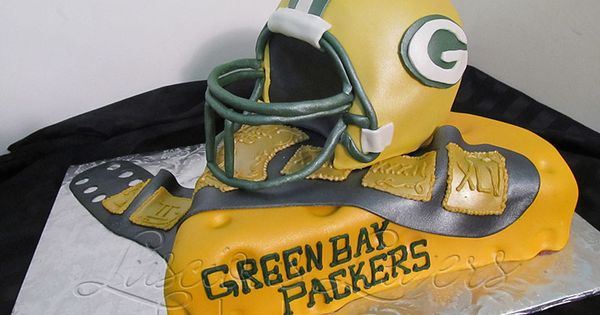 Green Bay Packers cake by Luscious Layers Bakery Shaped ...