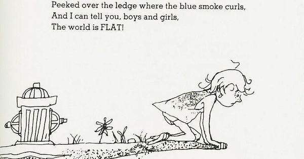 Shel Silverstein Illustrations: Where The Sidewalk Ends: Poems And Drawings By Shel