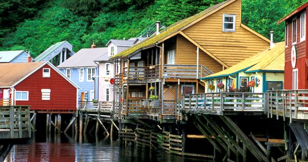 Creek Street - Ketchikan, ALaska