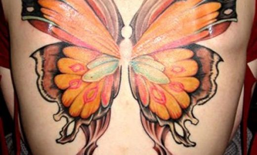 Butterfly Wing Tattoo Designs