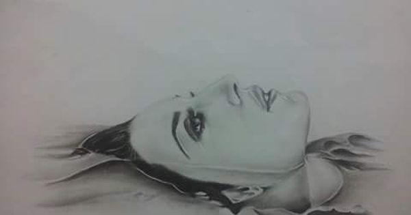 أمة عربية تغرق رسمة للمشاركة في مسابقة الرسم هاشم ملكاوي طفرة جوز Art Female Sketch Female