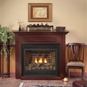 Empire Dvd36fp31n Tahoe Deluxe Direct Vent Fireplace Vented Gas
