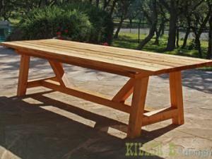 boisTable bois DIYune jardin de de table en jardin pSVGUzMq