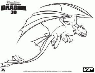 Malvorlagen Nachtschatten Sind Kleine Drachen Die Hoher Fliegen Konnen Schneller Und Weiter Als Dragon Coloring Page How Train Your Dragon Night Fury Dragon