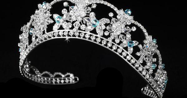 Mis 15 Anos Bracelet: Aqua Crystal Quinceanera Mis Quince Anos Tiara
