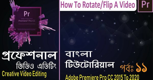 Creative Video Editing 11 How To Rotate Flip A Video In Adobe Premiere In 2020 Video Editing Creative Video Text Bubble