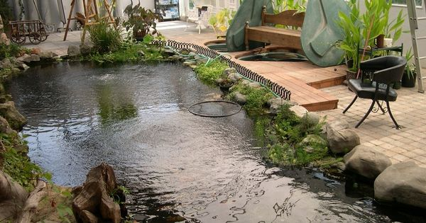 10 cool indoor pond design ideas picture koi fish pond design with natural stone indoor ideas. Black Bedroom Furniture Sets. Home Design Ideas