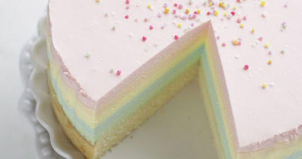 rainbow cheesecake (bake a boo)