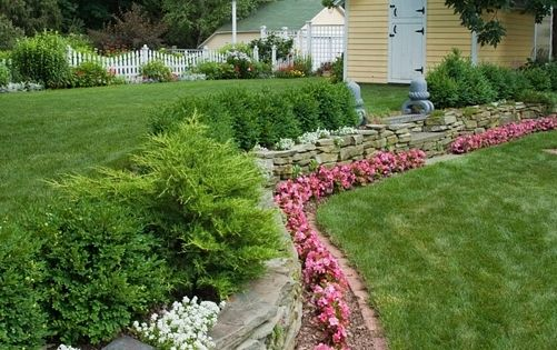 ... & More  Pinterest  Flower Bed Borders, Flower Beds and Beds