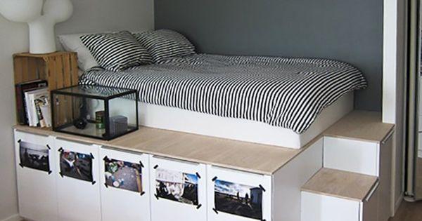 Underbed storage solutions for small spaces schlafzimmer for Hochbett auf englisch