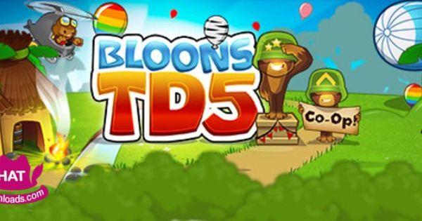 Bloons TD 5 Free Download Game - PC Version | Games | Pinterest | Pc-spil og Spil