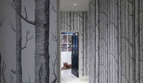 Cole Son Woods Wallpaper Stiff And Trevillion Architects