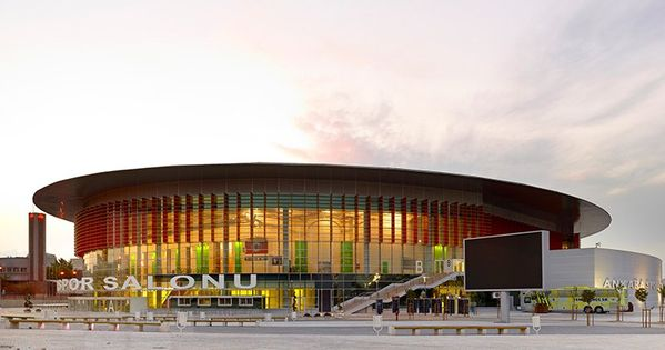 Yazgan Design Architecture Connects Ankara Arena Sports Hall With City In 2020 Architecture Architecture Design Sport Hall