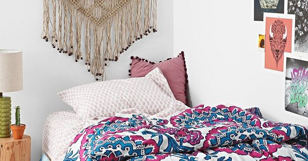 Magical Thinking Wood Block Medallion Twin Xl Bed In A Bag