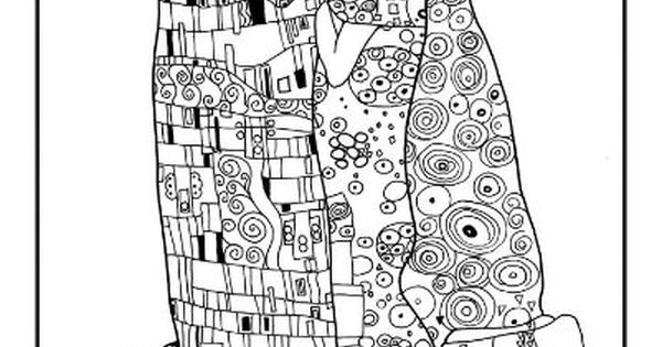 Ruby Door Art amp Design Klimt Coloring