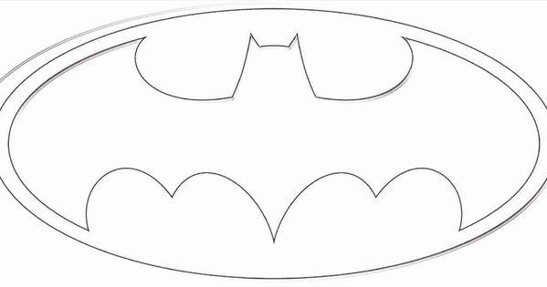 Batman Logo Coloring Page   40th birthday   Pinterest ...