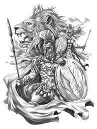 Imagen Relacionada Spartan Tattoo Mythology Tattoos