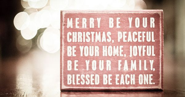 sweet Christmas words.. Christmas cards