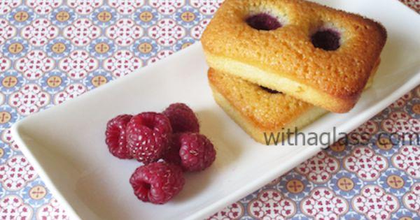 Financiers with Raspberries | Sweet Things I Like | Pinterest ...