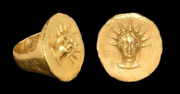 Ring In Ancietn Greek