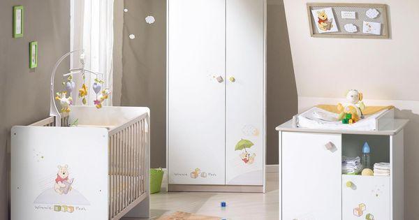 Chambre de bébé | decoration de chambre bebe winnie l ourson ...