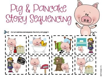 If You Give A Pig A Pancake Kindergarten First Day Preschool