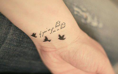 the notebook tattoo