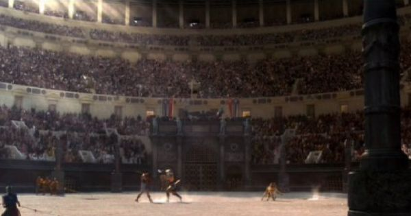 Caihron S View As He Enters The Arena Gladiator Character