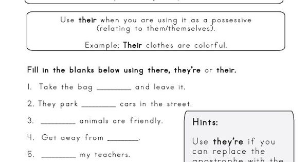 they 39 re vs there vs their homophone worksheet homophones pinterest worksheets spelling. Black Bedroom Furniture Sets. Home Design Ideas