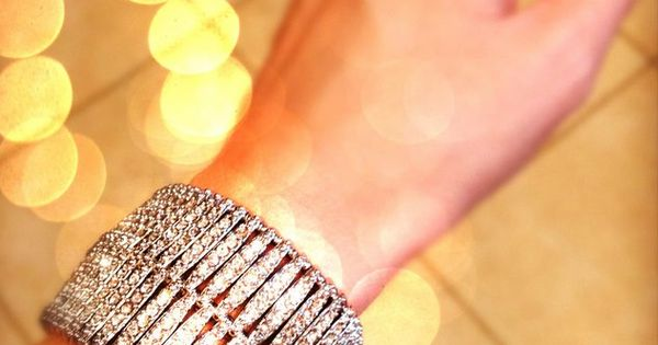 "The perfect touch of holiday bling! {""Ainsley"" Bracelet by Stella & Dot}"