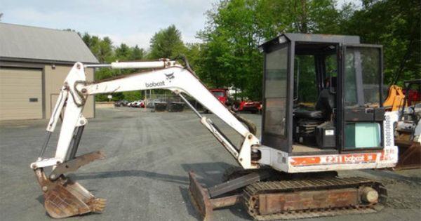 Bobcat X 231 Excavator Service Repair Manual S N 508911999 Below