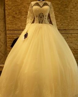 فساتين زفاف محجبات شيك سيدات مصر Dresses Ball Gowns Gowns