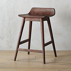 Wainscott 24 Wood Counter Stools Counter Stools Leather