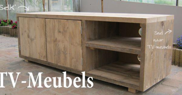 zelf tv kast maken mdf - Google zoeken  meubels  Pinterest  TVs and ...