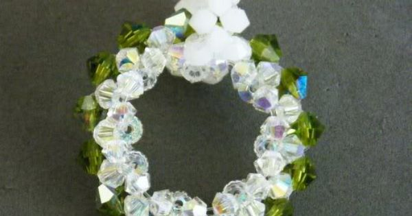 Jewelry making wreaths and pendants on pinterest