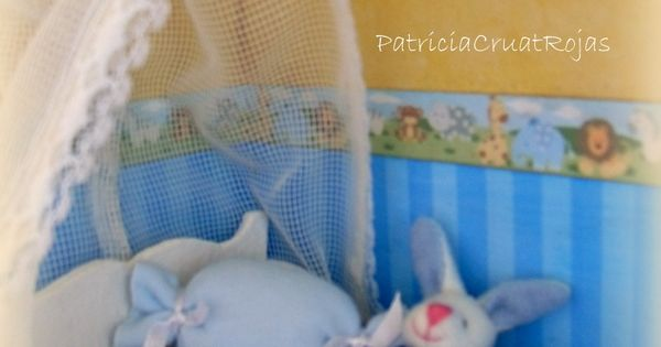 Detalle cuadro habitaci n ni o beb con miniaturas - Cuadro habitacion bebe ...