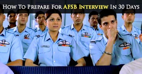 How To Prepare For Afsb Interview In 30 Days Interview Preparation Interview Interview Tips