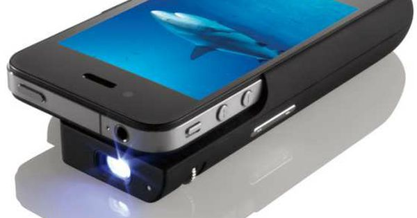 Phone Pocket Projector, iPhone Case, Cool Technology