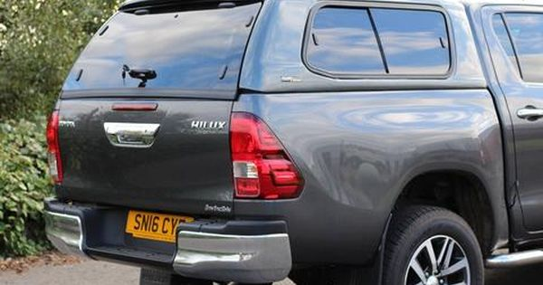 Toyota Hilux 2016 On Lupo S1 Leisure Hardtop Canopy Toyota