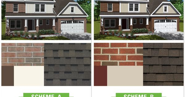 Exterior House Color Schemes With Red Brick Trina Clark