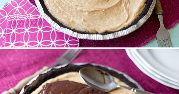 peanut butter chocolate pie recipe!