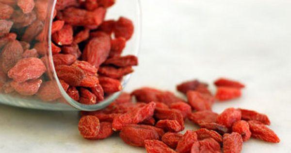 Goji Berries Taste Like A Vibrant Blend Of Berries And Chocolate