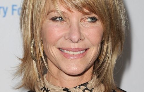 Beautiful Layer With Fringes Hairstyles For Older Women