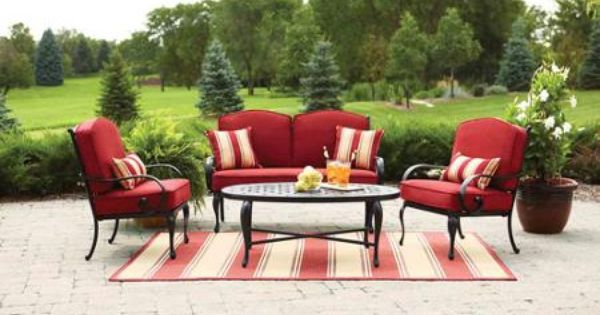 Better Homes And Gardens Fairglen 4-Piece Patio
