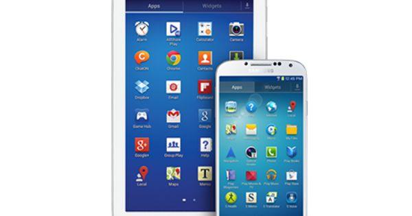 Samsung Galaxy Tab 3 7 Inch With Galaxy S4 Perfect Match Galaxy Tab Samsung Galaxy Tab Samsung
