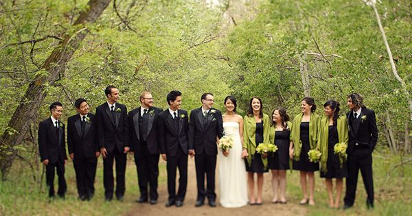 Black And Green Wedding Tbrb Info