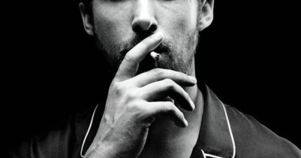ryan gosling. it's the smoking cigarette that gets me every time, damnit